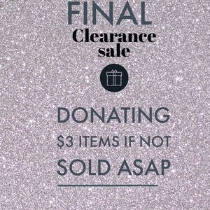 Other - ❤️LAST CHANCE SALE❤️ $3 items must go❗️